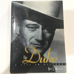 John Wayne the Duke biography pictorial hardback